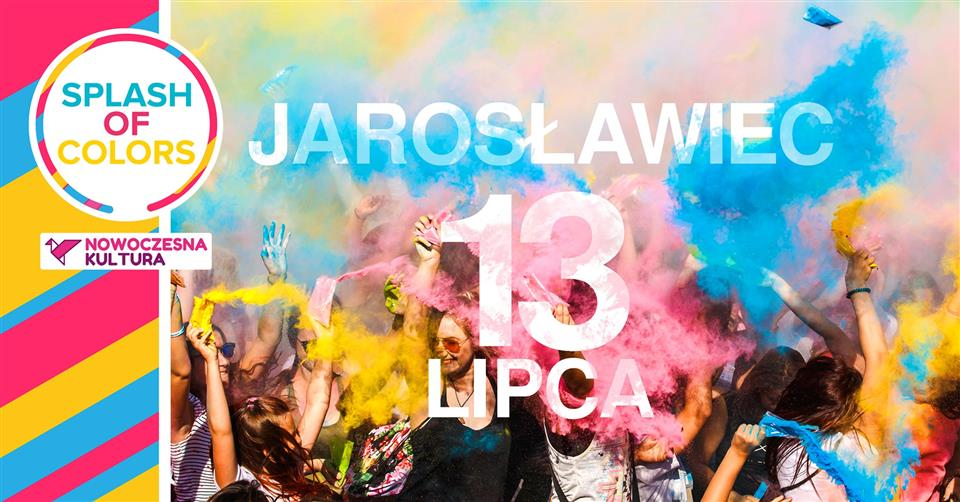 splash of colors jaroslawiec 2019
